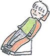 笑気吸入鎮静法を使った治療時の流れ